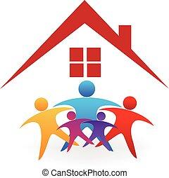 Logo de la casa familiar