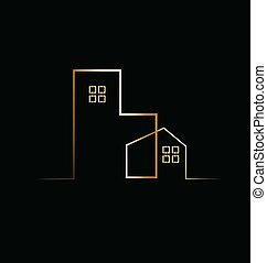 Logo de la casa residencial