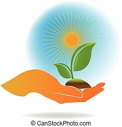 Logo de la ecología