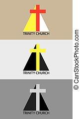 Logo de la iglesia Trinity