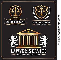 Logo de la oficina de abogados