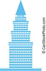 Logo de la Torre Azul