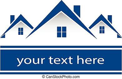Logo de las casas de bienes raíces