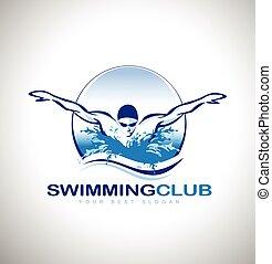 Logo de natación