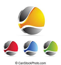 Logo de negocios, icono