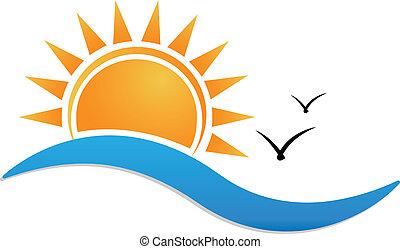 Logo de Sunset Beach