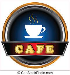 Logo del café