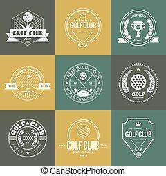 Logo del club de golf
