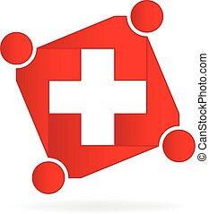 Logo del equipo médico