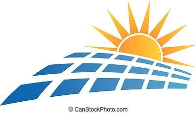 Logo del panel solar