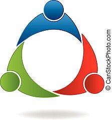 Logo del sindicato de compañeros de trabajo