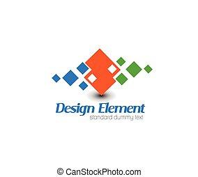 Logo del vector abstracto