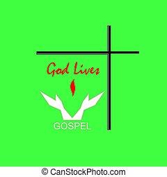Logo Dios vive