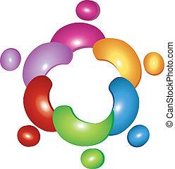 Logo floral del equipo
