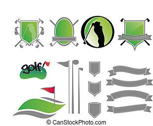 Logos de golf