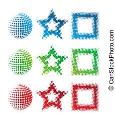 Logos de pixelate