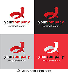 logotipo, curva