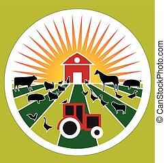 Logotipo de agricultura