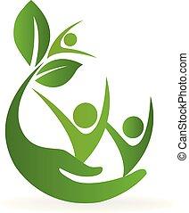 Logotipo de atención natural