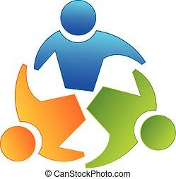Logotipo de compañeros de trabajo