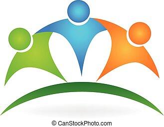 Logotipo de la amistad