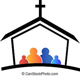 Logotipo de la familia de la iglesia