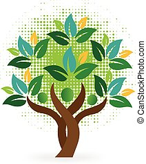 Logotipo de los árboles
