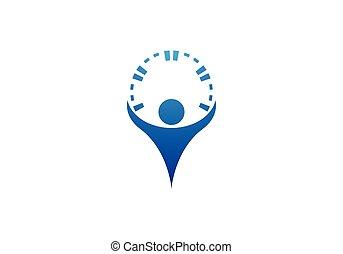 Logotipo de salud