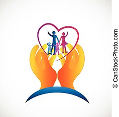 Logotipo de salud familiar
