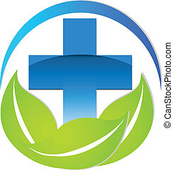 Logotipo de signo médico