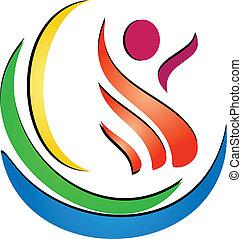 Logotipo de spa