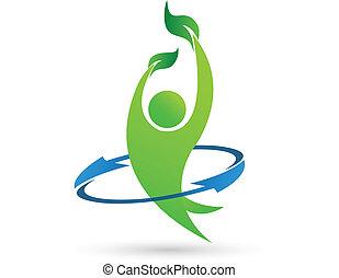 Logotipo de vector de salud
