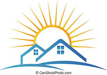 Logotipo del equipo inmobiliario