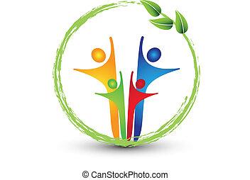 Logotipo del sistema de ecología