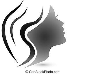 Logotipo femenino sensual