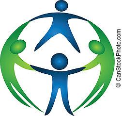 logotipo, grupo, equipo
