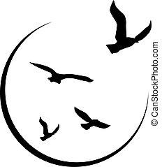 logotipo, libertad