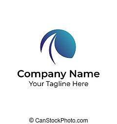 logotipo, minimalista, resumen, simple, vector