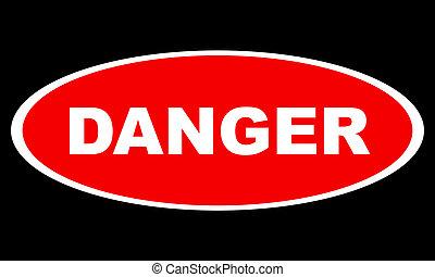logotipo, peligro