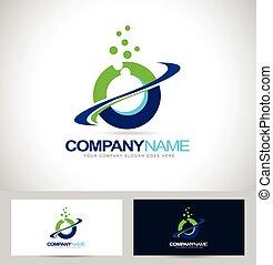 logotipo, swash, diseño