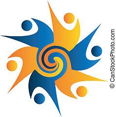 Logotipo Swirly