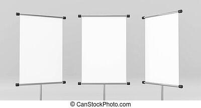 lona, papel, ilustración, arriba, banderas, textura, 3d, render, plano de fondo, gris, aislado, rollo