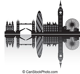London Skyline en detalle
