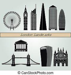 London V2 puntos de referencia