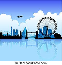 Londres en un día brillante