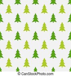 Los árboles de Navidad acrecentan el patrón del bosque