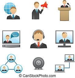 Los íconos de los negocios