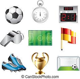 Los íconos del fútbol están listos