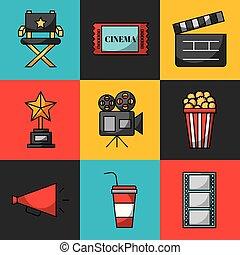 Los íconos hacen cine