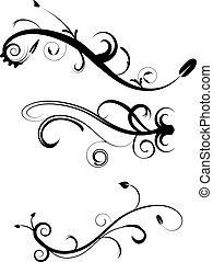 Los adornos decorativos ponen 2